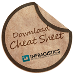 Download the NetAdvantage for ASP.NET Grid Cheat Sheet